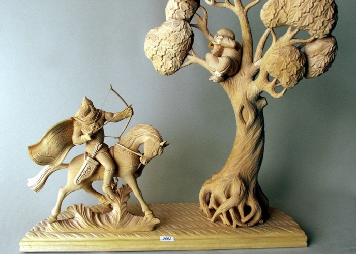 только современные куклы из дерева особое внимание при